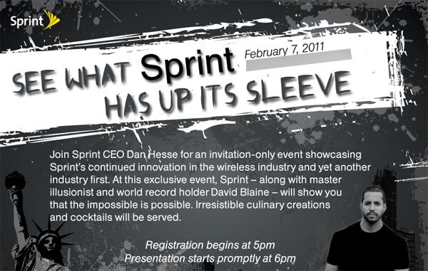 Sprint to showcase a glasses-free 3D phone on Feb 7?