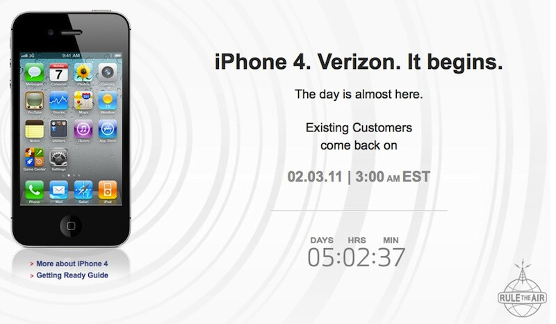 new verizon teaser page counts down the time until apple iphone pre rh phonearena com iPhone iOS 6 User Guide Apple iPhone 5S User Guide