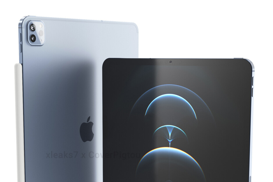 iPad Pro (2021) CAD-based renders - The Apple event is now reportedly happening in April, not next week