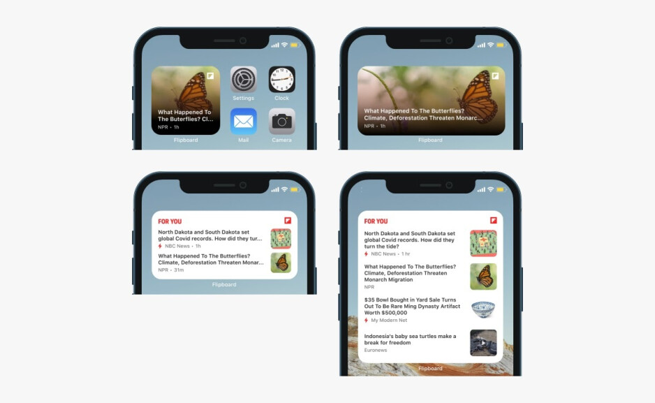 Flipboard gets iOS 14 home screen widgets