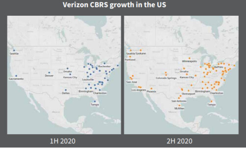 Verizon's CBRS network expansion - How Verizon's 4G network turned out faster than the 5G ones