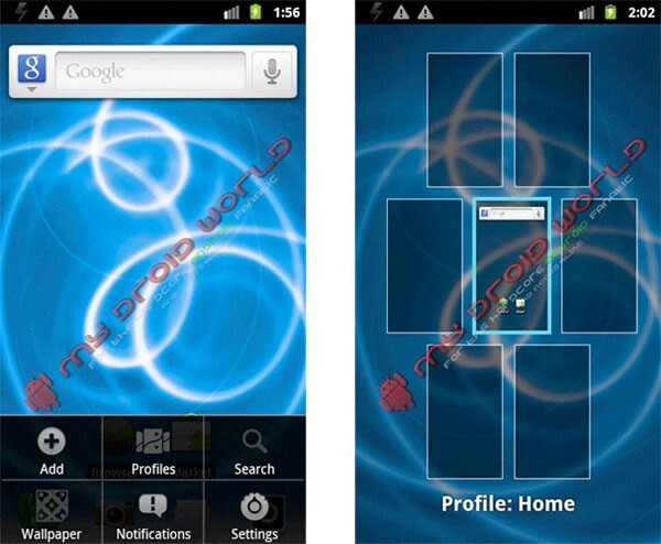 Screenshots hint to possible Gingerbread update for the Motorola DROID X soon?