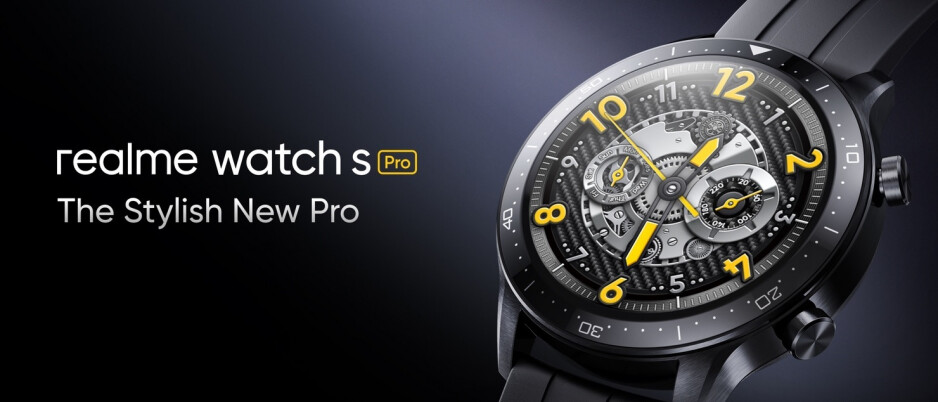 The new Watch S Pro - Realme 8 Pro is unveiled with Samsung's 108MP camera sensor