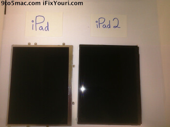 iPad 2 screen probably leaked, to have the same old 768 x 1024 resolution?
