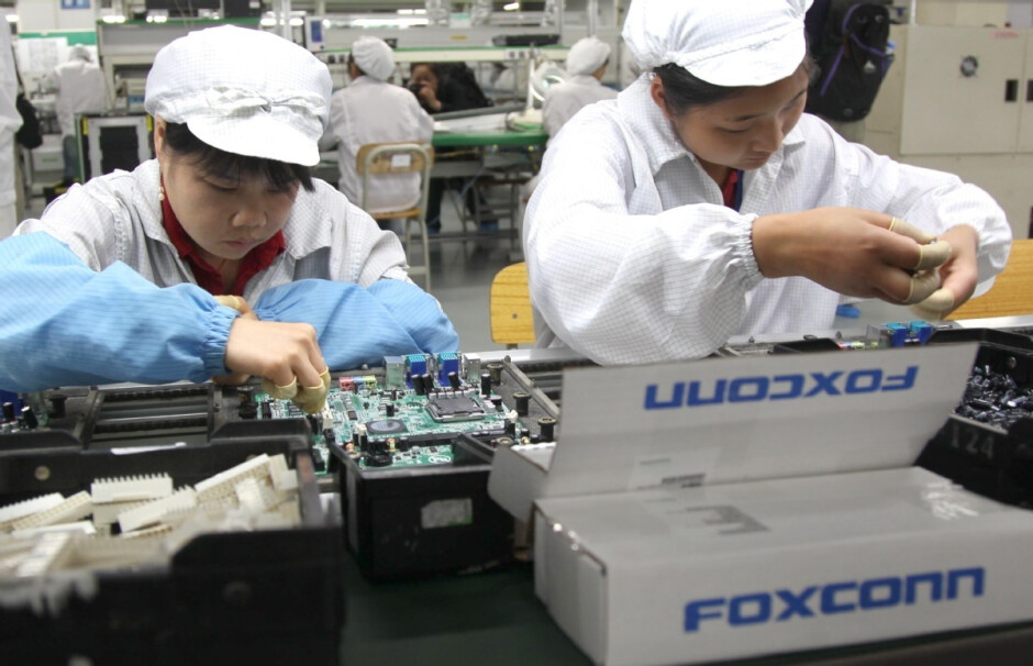 The contract manufacturer Foxconn suffers from material and chip shortages - the Apple iPhone manufacturer says it suffers from material and chip shortages