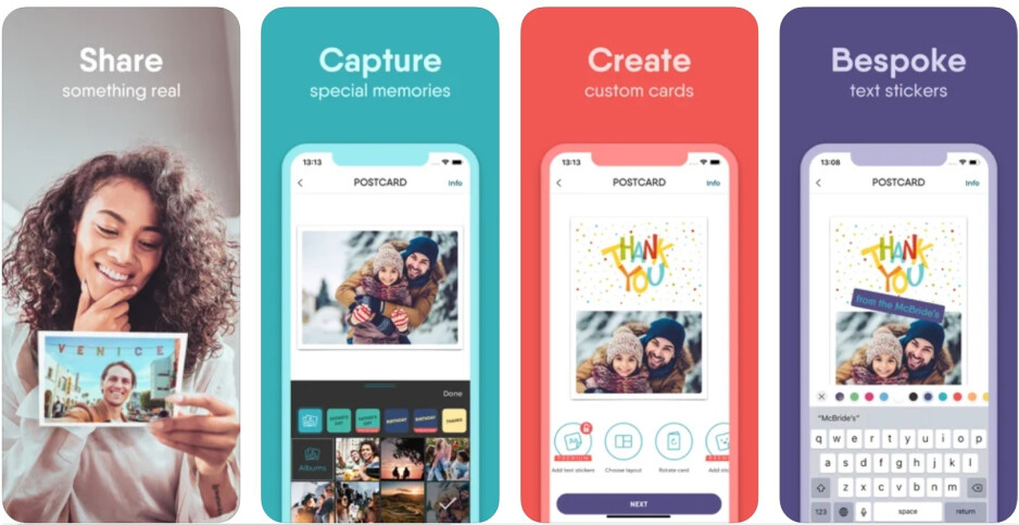 How to send a postcard from your phone