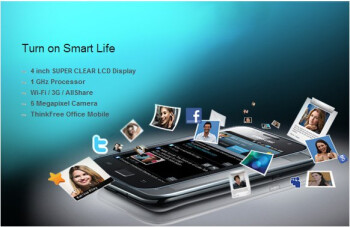 Samsung Galaxy SL GT-I9003 is the latest variant & packs a Super Clear LCD display