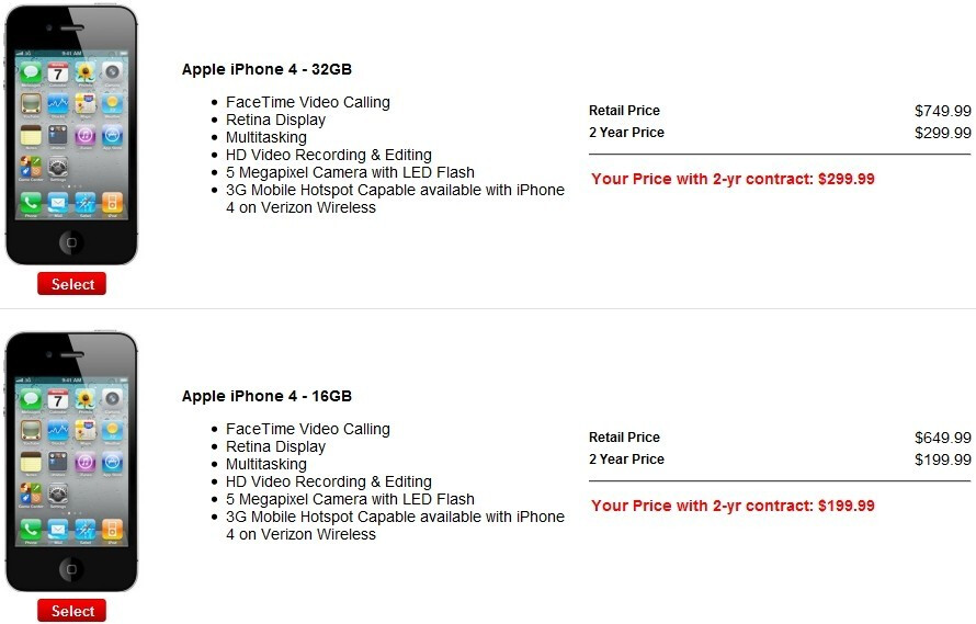 The wait is over. Verizon customers can now pre-order the Apple iPhone 4
