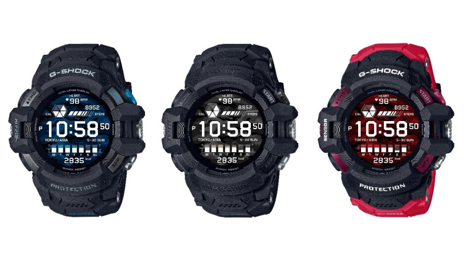 Casio G-SHOCK GSW-H1000 - Casio's latest G-SHOCK smartwatch is the first to be powered by Google's Wear OS