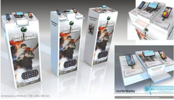 "Sony Ericsson Xperia Play display stand leaks, carries a ""Smart Phone, Smart Gaming"" slogan"