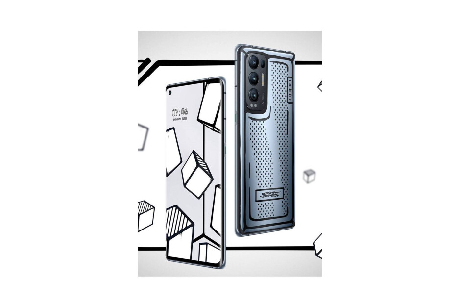 Limited edition version of the Oppo Reno 5 Pro+ made in collaboration with designer Joshua Vides - Renders show a comic book-inspired budget OnePlus phone that never happened