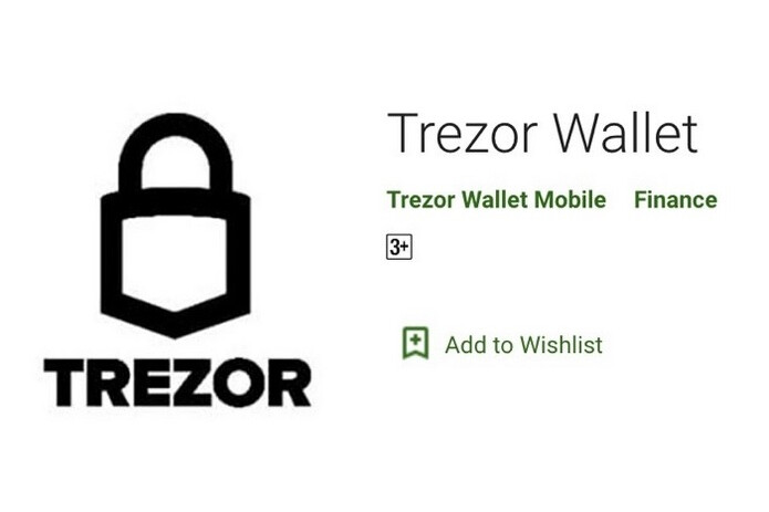 Google removed this fake Trezor Wallet app from the Google Play Store last month - Fake iOS app steals one million dollars in Bitcoins taking a victim's life savings