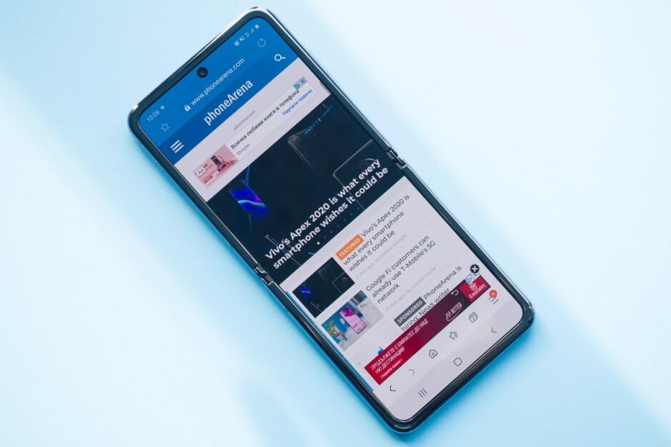 Este é o Galaxy Z Flip de primeira geração - Se é isso que a Samsung está planejando para o Galaxy Z Flip 3, não estamos impressionados