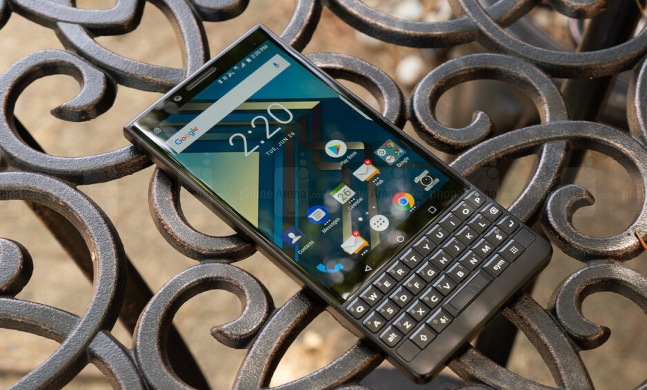 The BlackBerry Key2 which was manufactured by former licensee TCL - Flagship camera array rumored for first 5G BlackBerry phone