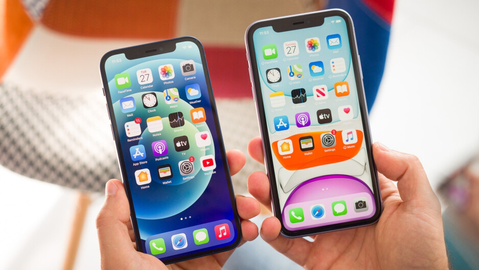 iPhone 12 (left), iPhone 11 (right) - Apple's latest iPhone and iPad trade-in changes are (mostly) good news