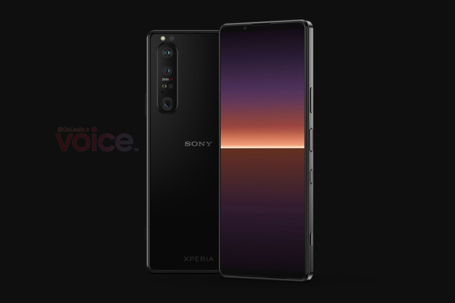 Sony Xperia 1 III CAD-based renders - Sony teases Xperia 1 III name in trailer video ahead of April 14 event