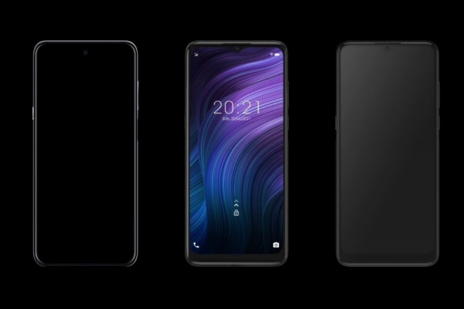 TCL 20S, 20Y, and 20E (left to right) - All of TCL's affordable upcoming smartphones are now like an open book