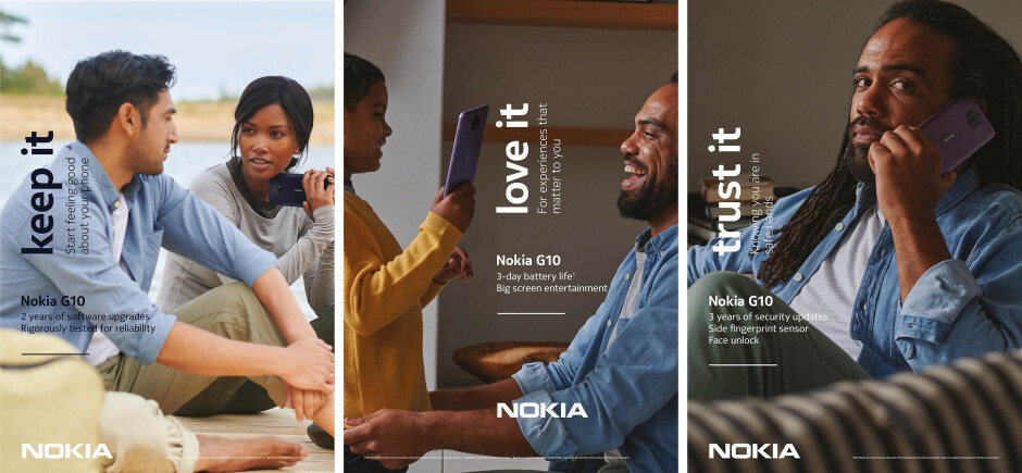Nokia G10 promo material - Nokia's biggest phone launch introduces 6 new phones, built to last