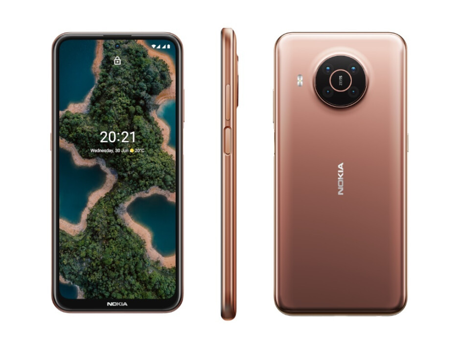 The Nokia X20 in Midnight Sun - Nokia's biggest phone launch introduces 6 new phones, built to last