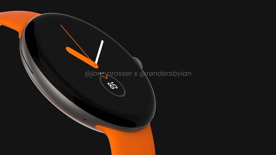 Google Pixel Watch leaks in all its glory with circular display