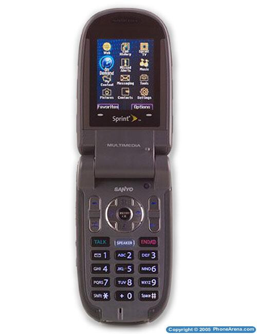 Sprint launches Sanyo MM-7500