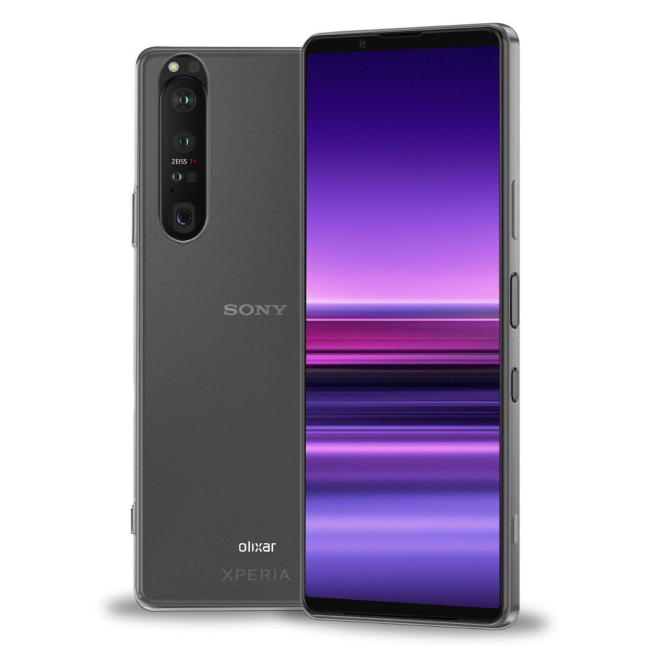 Sony Xperia 1 III as leaked by case maker Olixar - This is the Sony Xperia 1 III in all its leaked glory