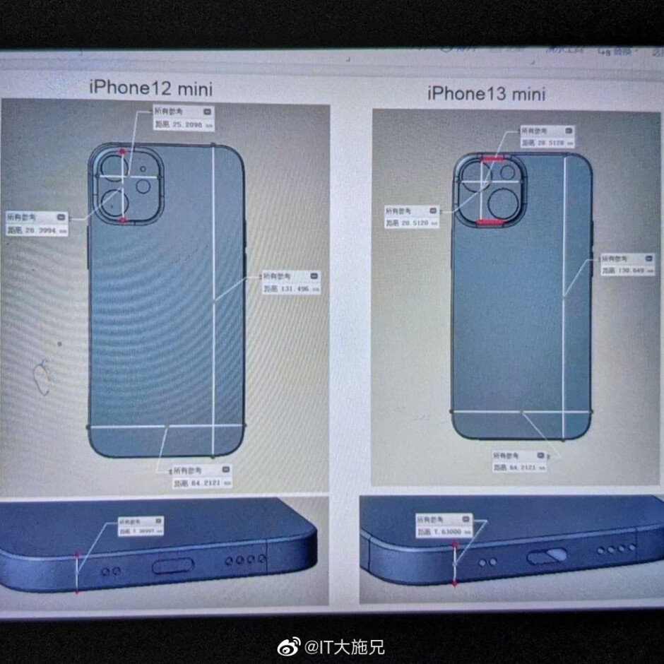 New camera, who dis? - Alleged iPhone 13 mini front and back tips cue new camera and smaller notch indeed