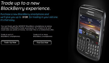 RIM announces their BlackBerry Trade-Up Program for the US