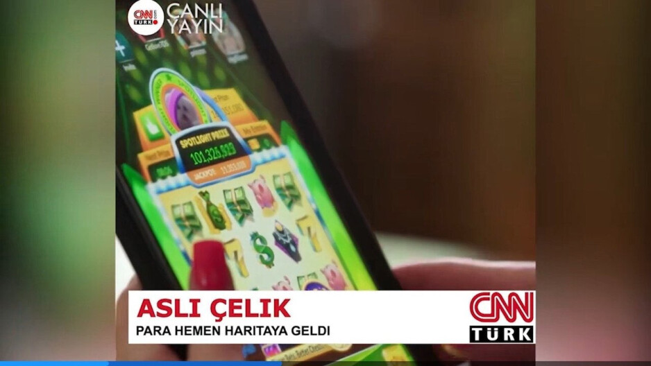This fake image was used to promote JungleRunner 2k21. There was no story run on CNN and there is no CNN Turks - Basic iOS children's app doubled as a secret online casino