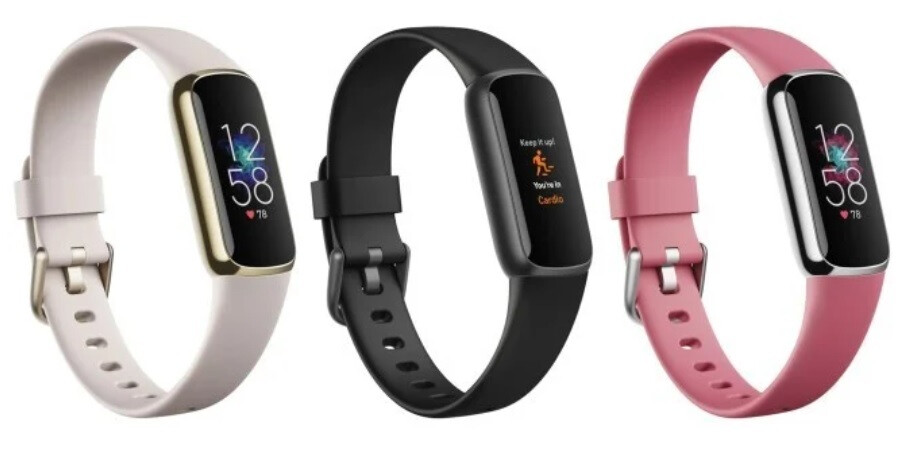 The upcoming Fitbit Luxe will be available in three different color options - Images of the Fitbit Luxe fitness tracker leak