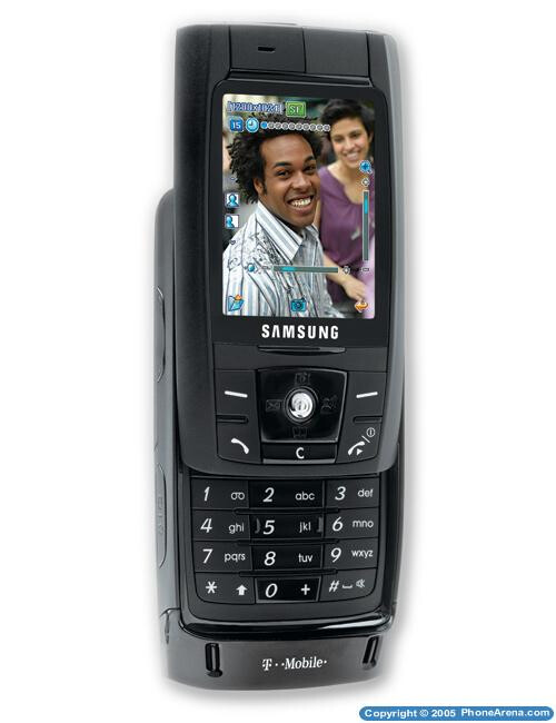 T-Mobile launches Samsung T809 slim slider