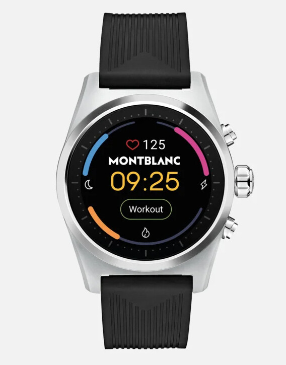 Montblanc's Summit Lite luxury smartwatch arrives in the US