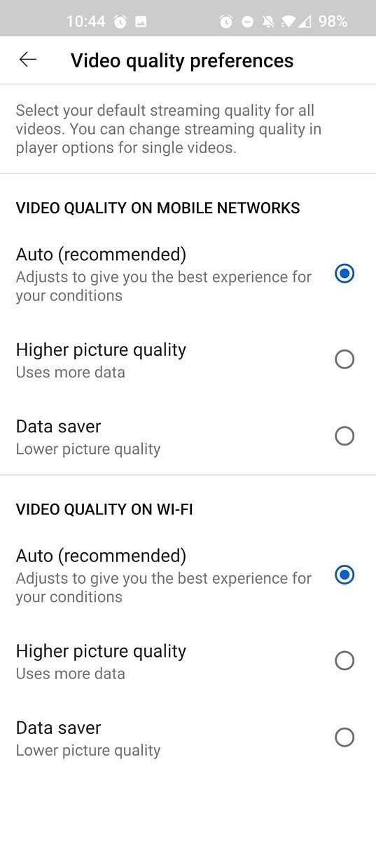 YouTube adds confusing video quality controls on Android and iOS