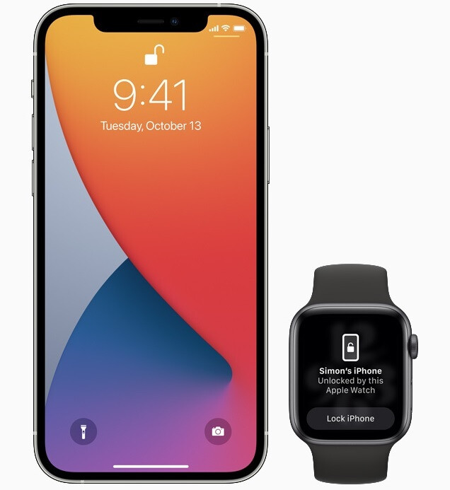 With the arrival of iOS 14.5 today, face mask wearing iPhone users can bypass Face ID and use an unlocked Apple Watch to get into their phone - Apple finally releases iOS 14.5