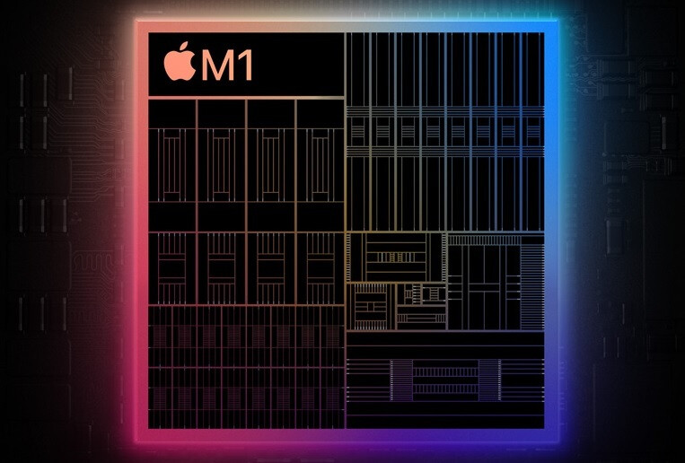 The Apple M1 chip carrying 16 billion transistors powers the new iPad Pro models - Apple sees iPad shortages later this year