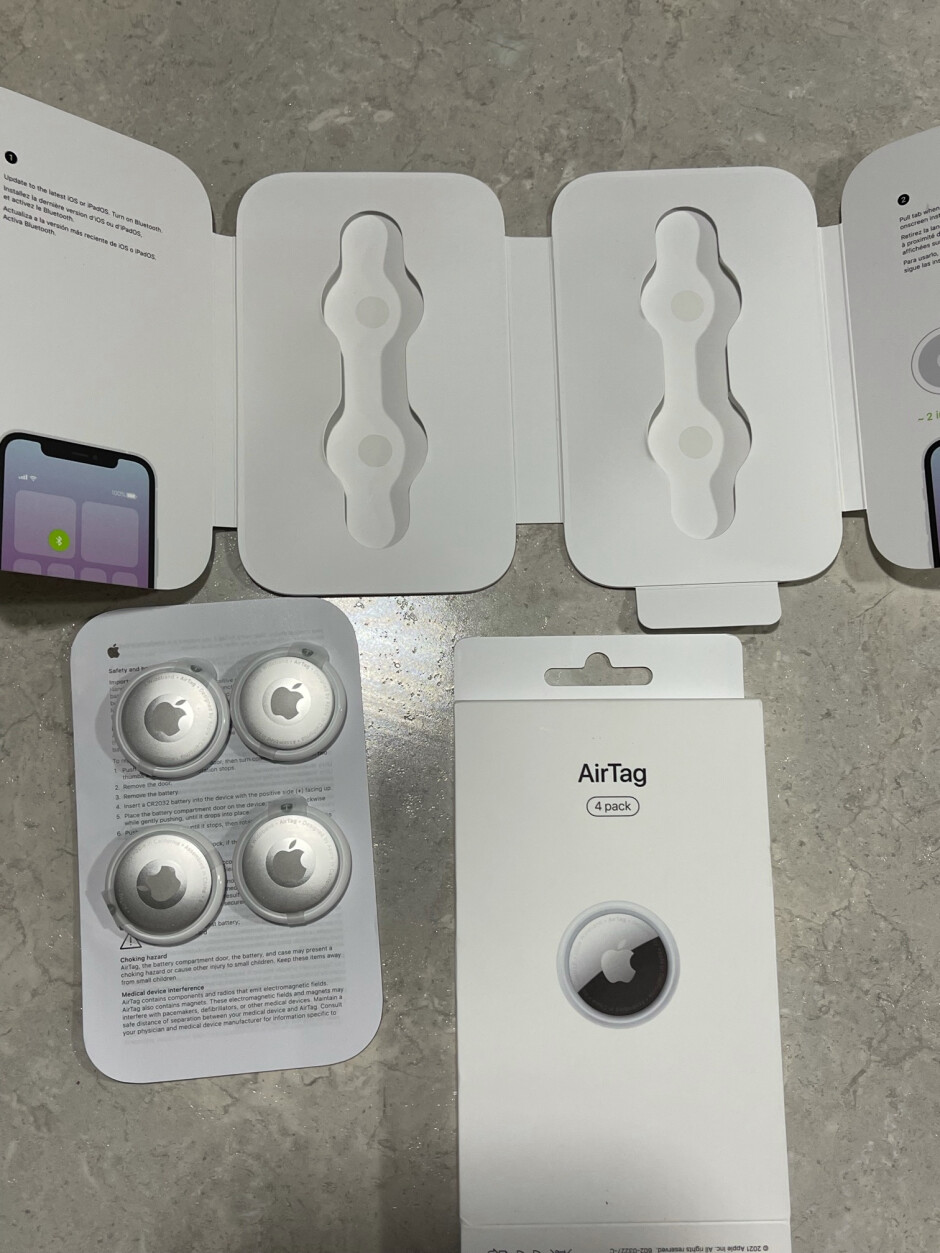 AirTag orders are expected to officially start shipping on April 30th - AirTag order arrives two days before the release date