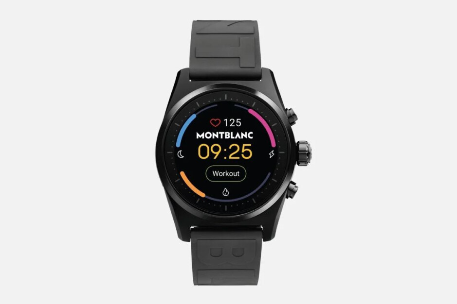 Montblanc's Summit Lite smartwatch arrives in the US with a luxury price tag
