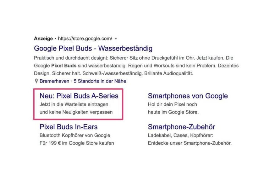 Pixel Buds A-series ad spotted - Google I/O 2021: Google appears to have confirmed at least one product announcement