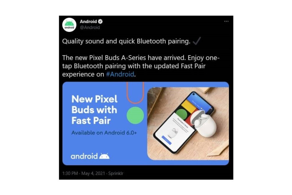 A now-deleted tweet from @Android account suggests an announcement is around the corner - Google I/O 2021: Google appears to have confirmed at least one product announcement