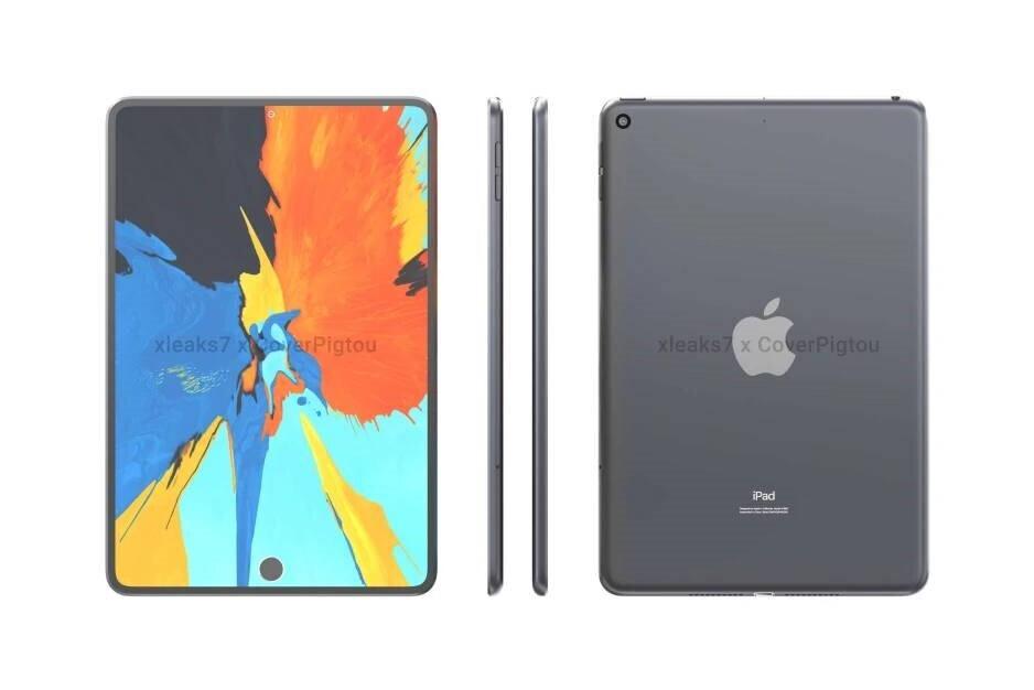Sketchy iPad mini 6 renders - The iPad mini 5G adopts design elements from the iPad Pro: scoop