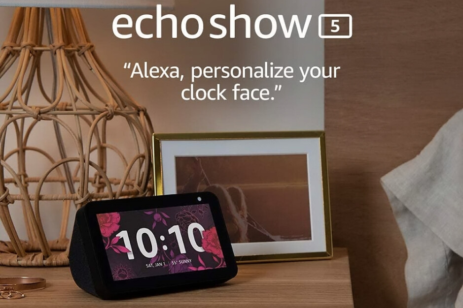 The Amazon Echo Show 5 smart display is 44% off today