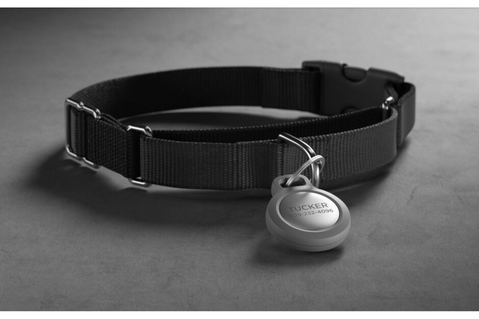Nomad launches AirTag Rugged Keychain, pet ID tag engraving