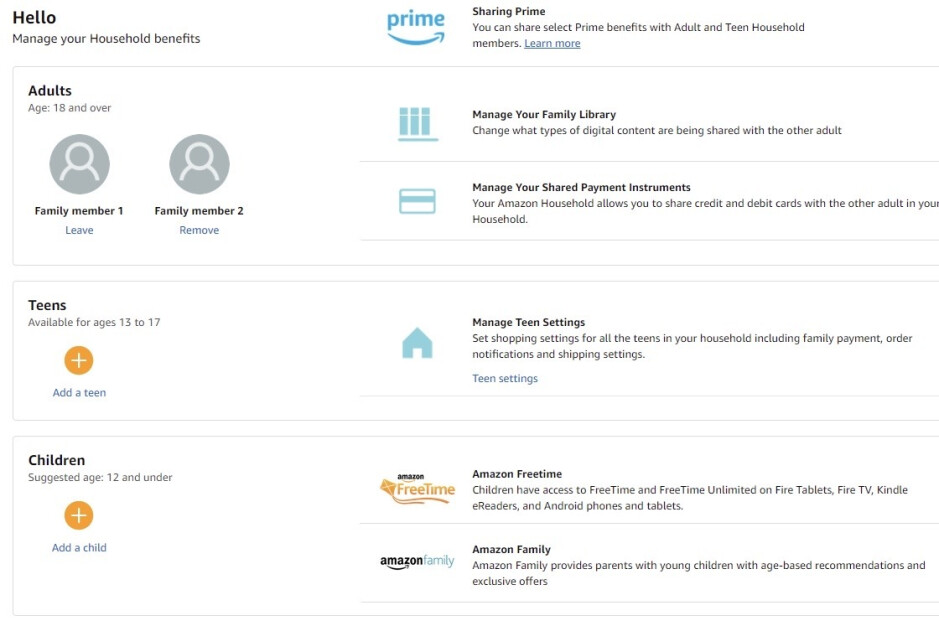 Share Amazon Prime account and benefits with someone without giving away your password
