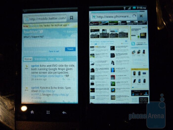 Kyocera Echo Hands-on