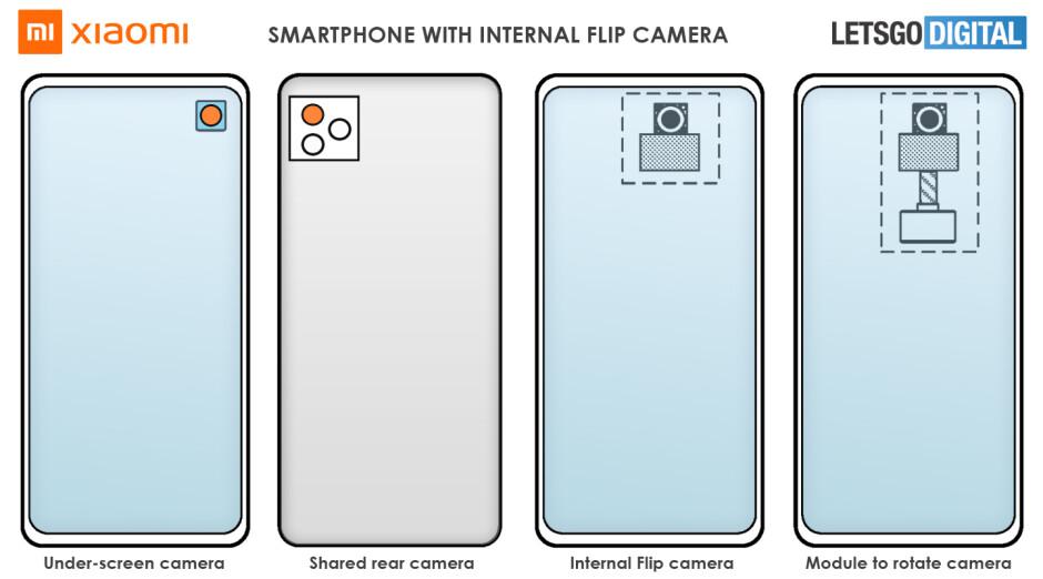 Xiaomi está trabajando en un teléfono modular y una cámara emergente giratoria incorporada