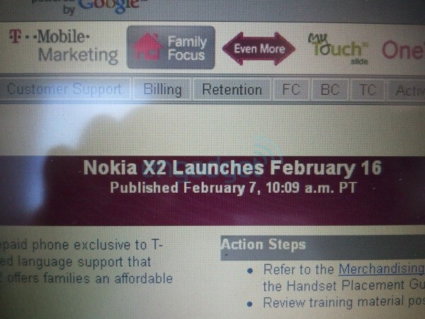 Nokia X2 is still planning for a February 16th release with T-Mobile?