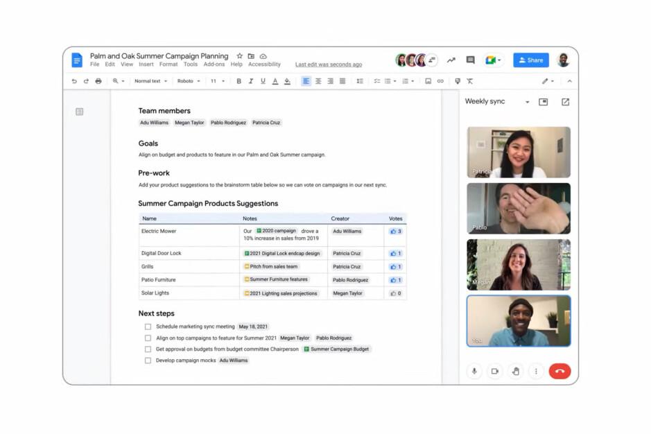 Google announces new Google Meet features, improved integration