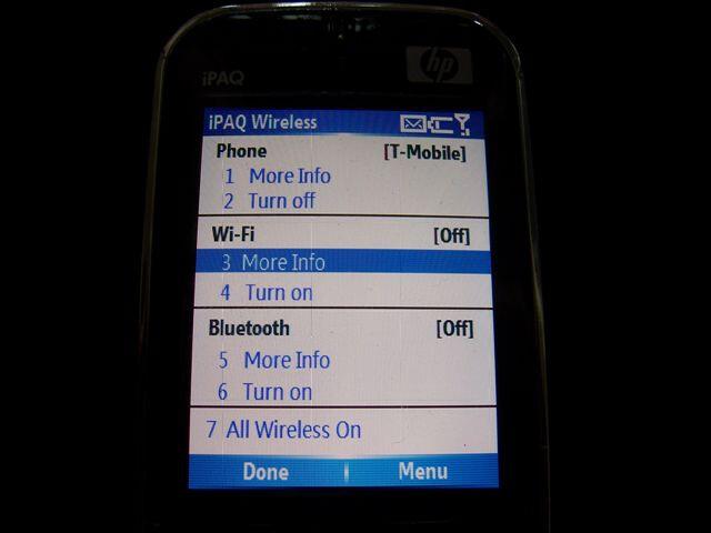 HP iPaq rw4500 smartphone?