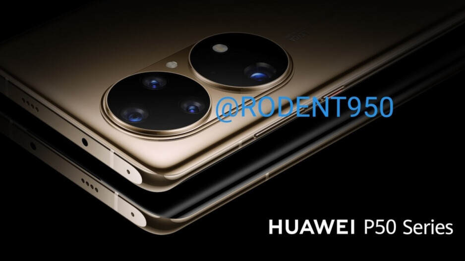 Render of the flagship Huawei P50 which has been delayed - Global smartphone shipments forecast to fall during the current quarter