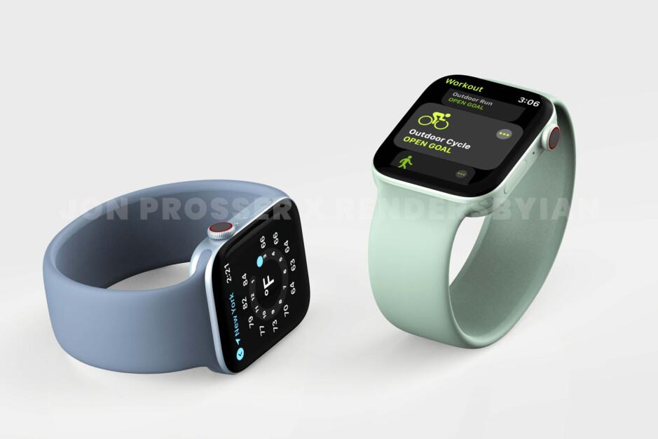 Massive Apple Watch Series 7 leak shows off new design ...